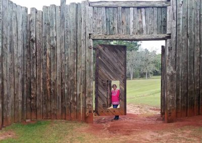 AndersonvillePOW_camp_entry_gate_1